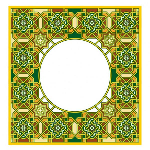 Fensterfolie arabeske maurischer Stil