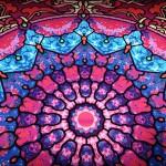 Fensterdeko Mandala