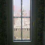 Fensterfolie, Fensterdeko, Raumgestaltung, Glasdekor, Muster
