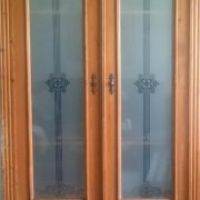 Sichtschutz für Glas Türen Fenster