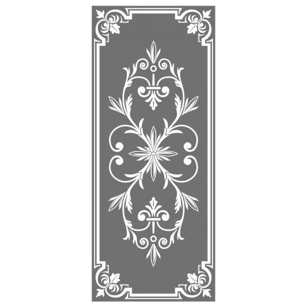 Milchglasfolien Muster oder auch Glasdekorfolie